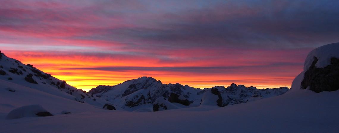 Alba delle Dolomiti