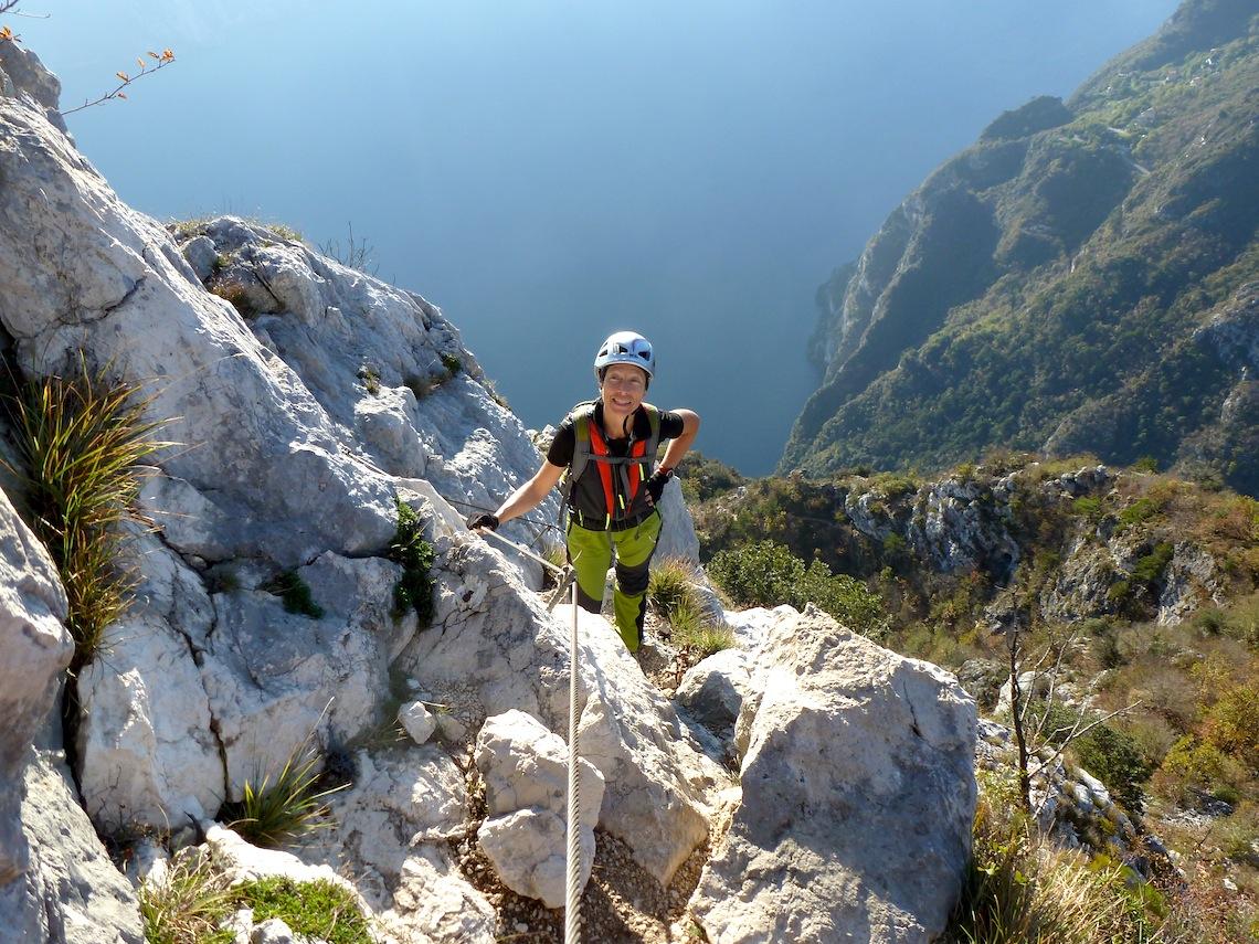 Vie ferrate Lago di Garda