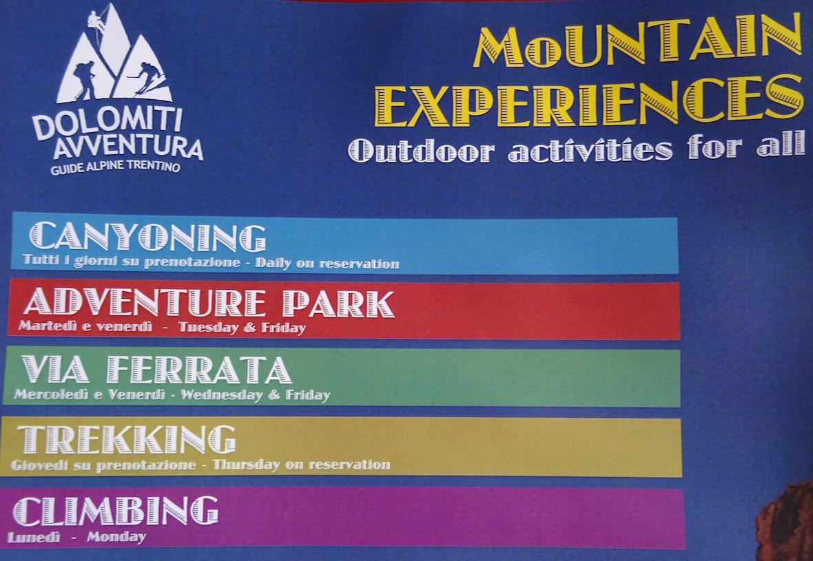 Mountain activities 4 all